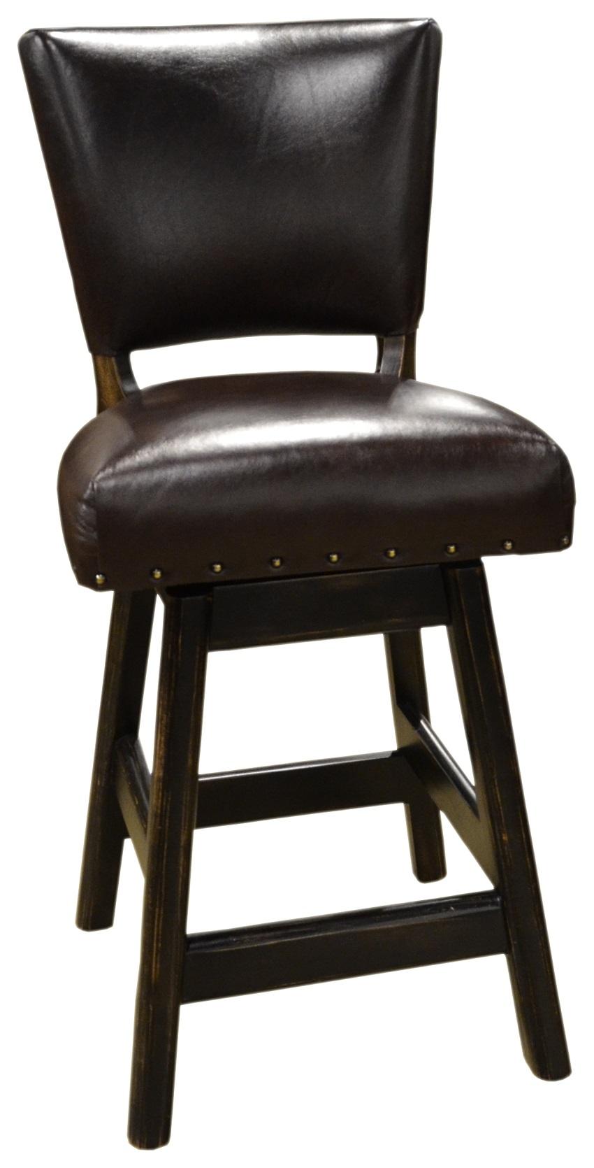 Leather Bar Stools Ranch Leather Armless Bar Stool