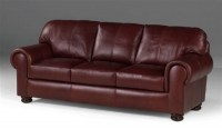 Regis Leather Sofa