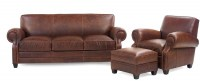 Delta Leather Sofa