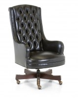Montclaire Leather Desk Chair
