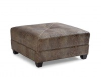 Montgomery Leather Cocktail Ottoman