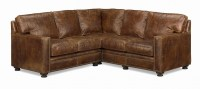 El Paso Leather Sectional
