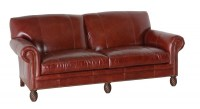 Benedict Leather Short Sofa