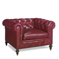 Baton Rouge Leather Chair