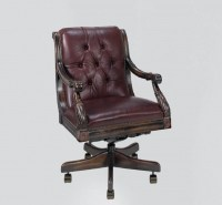 Nob Hill Executive Leather Chair