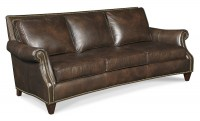 Bates Leather Sofa