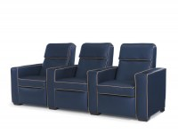 Transitional Leather Home Theatre Seating