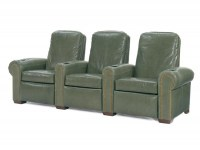 Silver Line Leather Threatre Seating