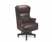 Universal Leather Swivel Tilt Chair