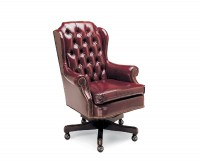 Classic Design Leather Desk Chair