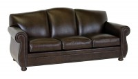Sangria Leather Sofa
