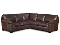 Landry Leather Sectional