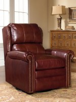 satchel leather wallhugger recliner