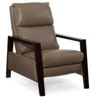 Moore Leather Recliner