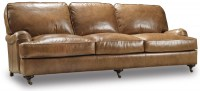 Hamrick Leather Sofa