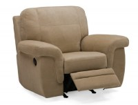 Brunswick Leather Wallhugger Recliner
