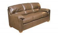 Cedar Heights Leather Full Size Sleeper Sofa
