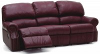 Charleston Leather Reclining Sofa