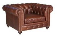 Hemingway Extra Deep Leather Chair