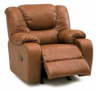 Dugan Leather Wallhugger Recliner