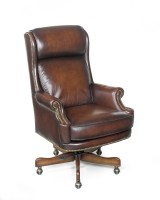 James River Leather Executive Chair