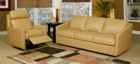 Hudson Street Leather Sofa