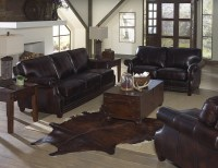 Anna Leather Sofa Group