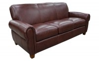 Parisian Leather Sofa