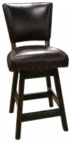 Ranch Leather Armless Bar Stool