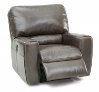 san francisco wallhugger leather recliner