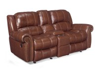 Hooker Entertainment Sofa With Recliners