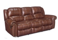 Hooker Leather Reclining Sofa
