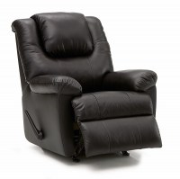 Tundra Leather Wallhugger Recliner