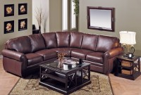 Viceroy Leather Sectional