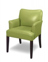 Hyde Park Leather Accent Chair