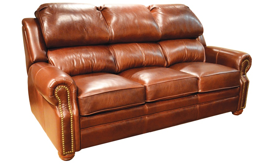 San Juan Leather Reclining Sofa