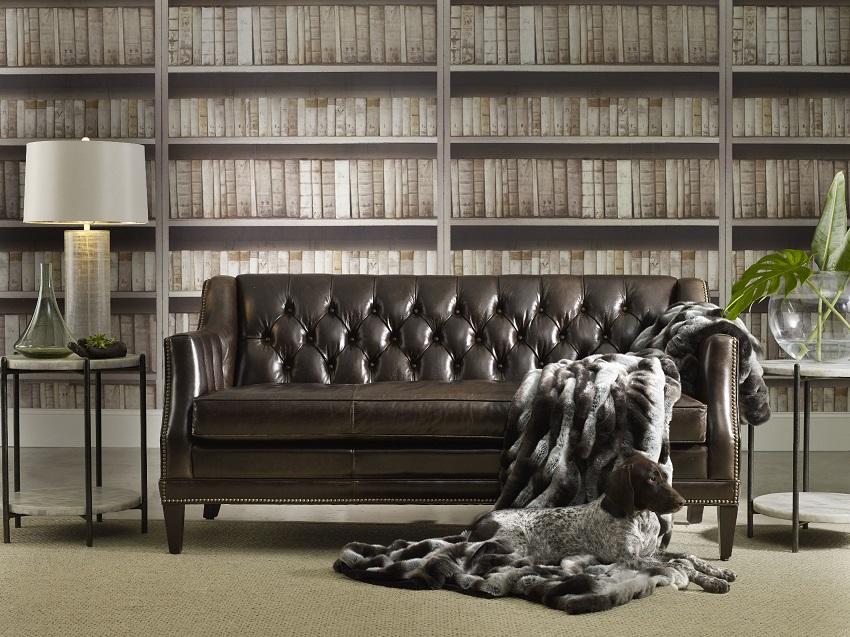 Balmoral Blair Leather Sofa