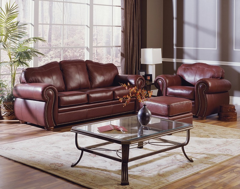 Troon Leather Sofa Sleeper