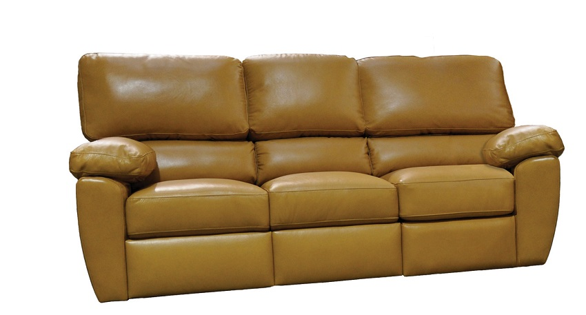 leather reclining sofa from wellington 39 s. Black Bedroom Furniture Sets. Home Design Ideas