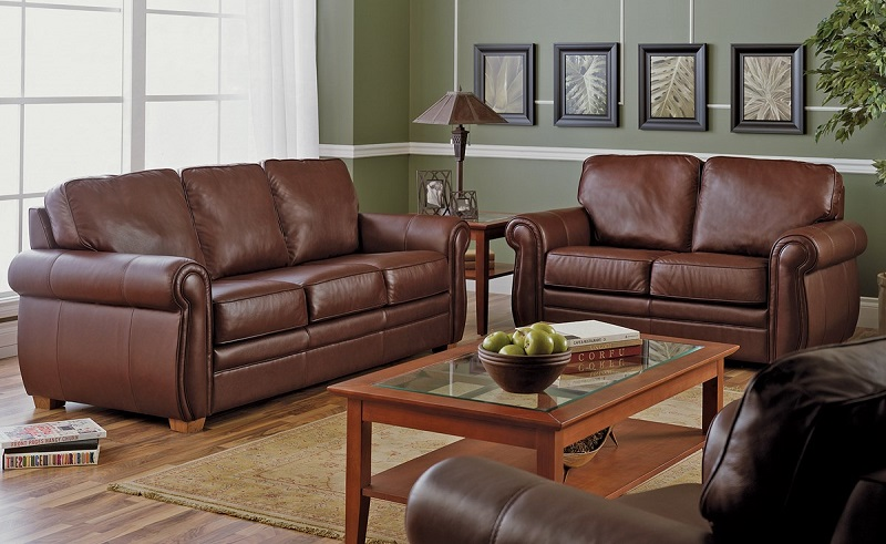 Viceroy Leather Sofa Sleeper