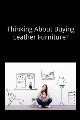 What You Need To Know When Shopping For A Leather Couch