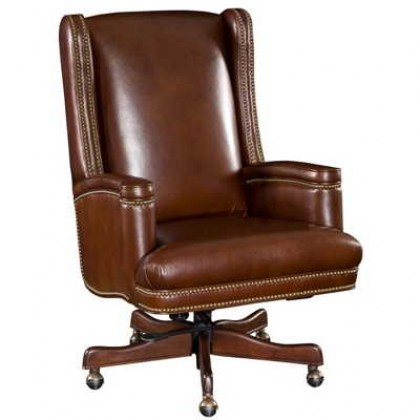 Quick Ship Leather Office Chair