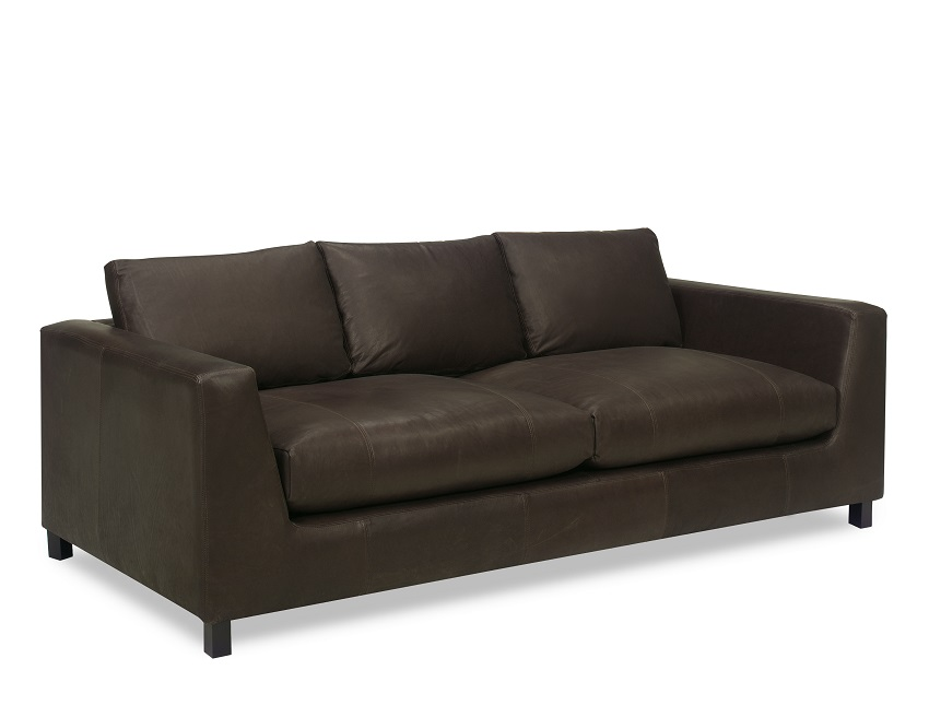 Adele Leather Loveseat