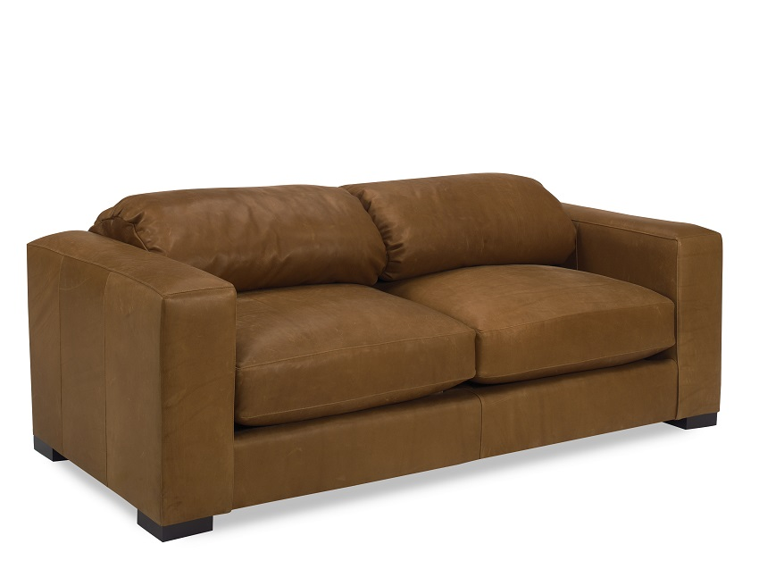 Joseph Leather Loveseat