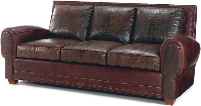 Jonas Leather Sleeper Sofa