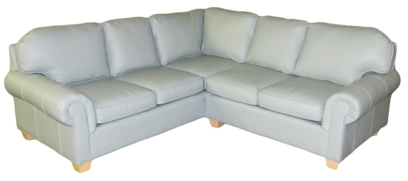 Andrews Leather Sectional