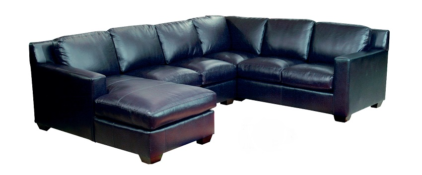 Caribou Leather Sectional