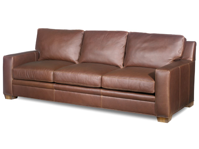 Hanley Leather Sleeper Sofa