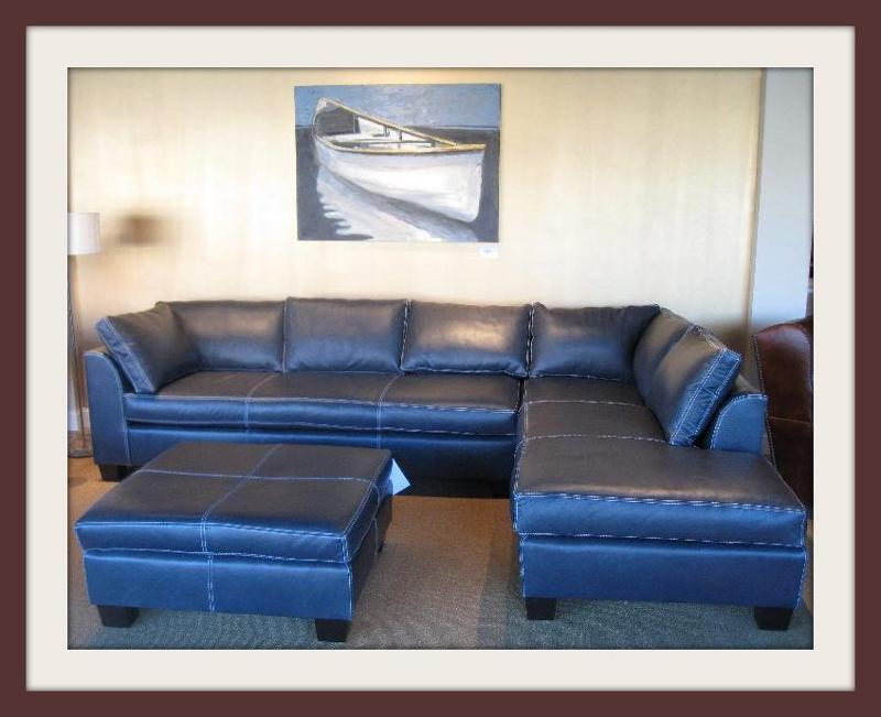 Carolina Leather Sectional