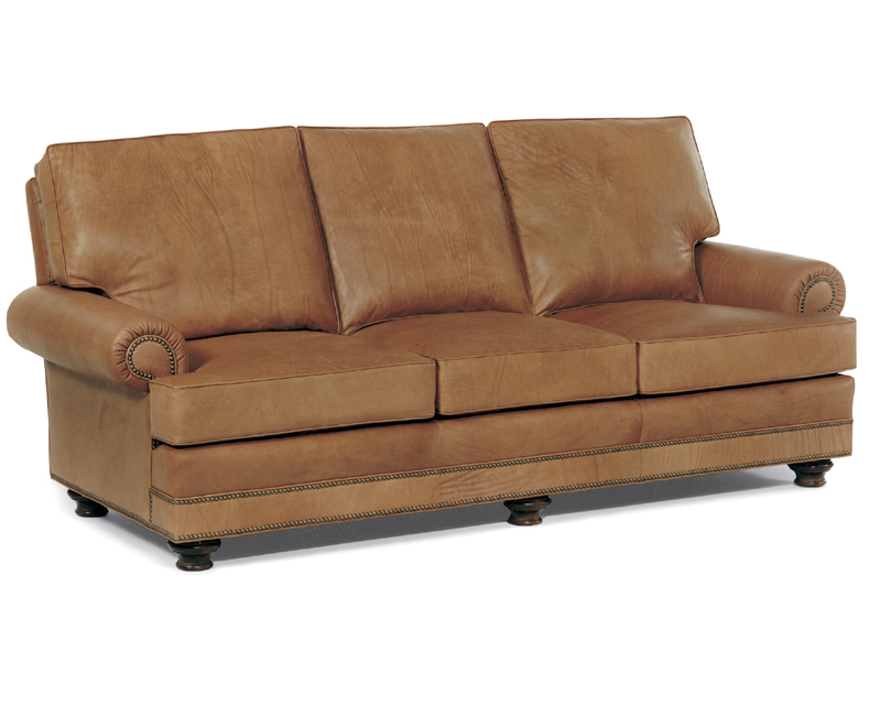 Bon Aire Leather Sleeper Sofa